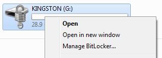 ManageBitLocker