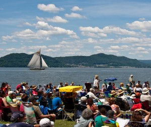 At Clearwater's Great Hudson River Revival.