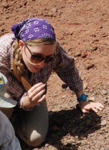 Anna Weiss combined her love of geology with her passion for environmentalism to find her ideal career path.
