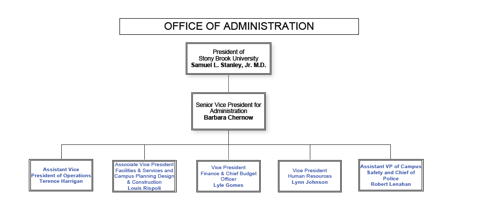 organization chart office of administration