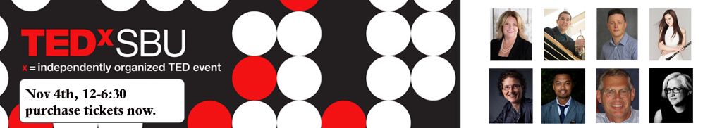 TEDxSBU on Nov. 4th