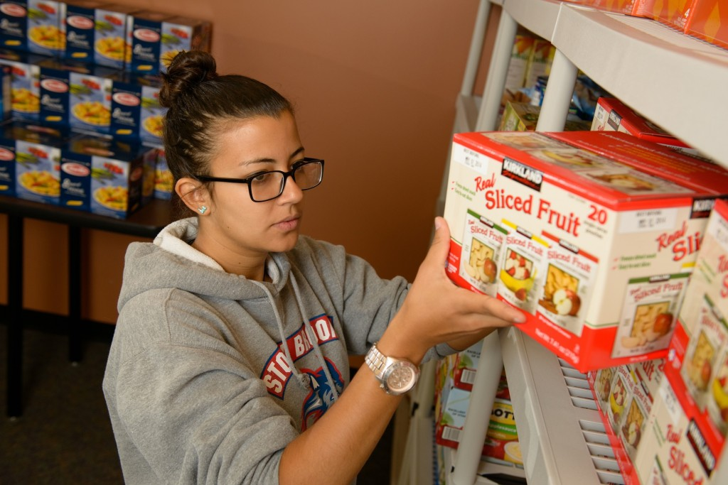 Stony Brook, NY; Stony Brook University: Stony Brook Food Pantry