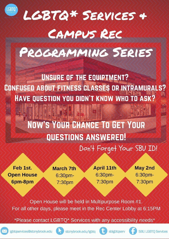 Campus Rec Series Poster