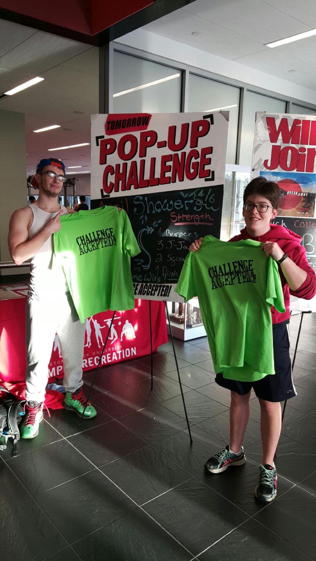 Pop Up Challenge 4-6