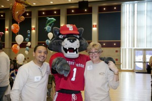 Wolfie with Kim Knoll and Steve Ortega