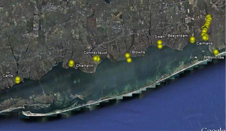 Receiver Locations