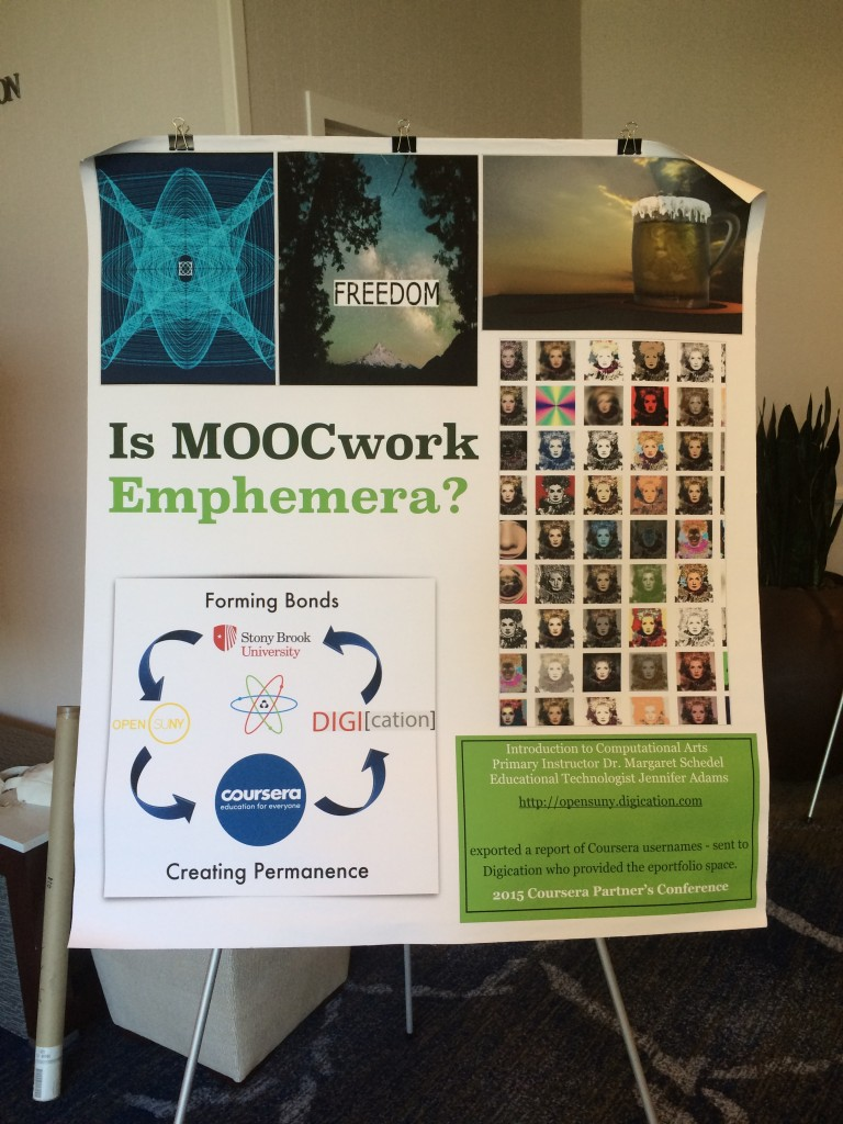 Is MOOCwork Emphemera? Forming Bonds - Creating Permanence