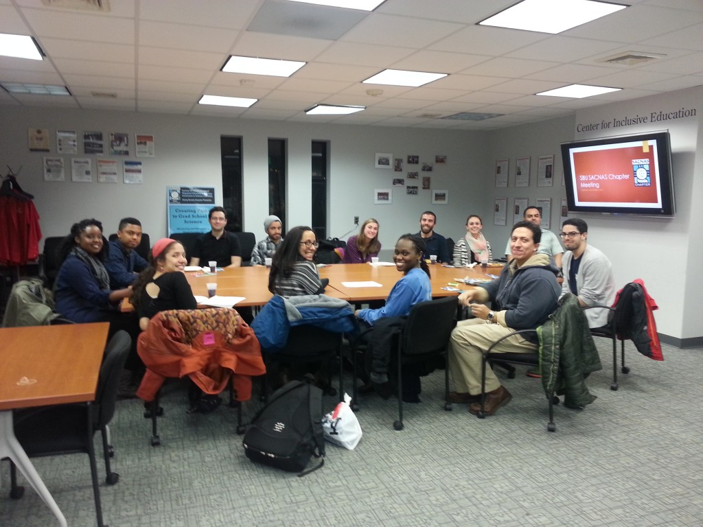 Stony Brook's SACNAS Chapter