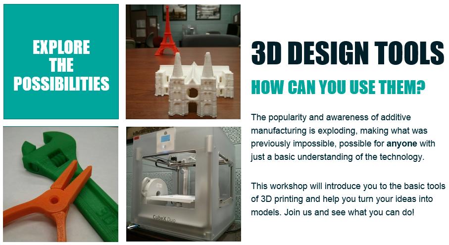 3d design tools