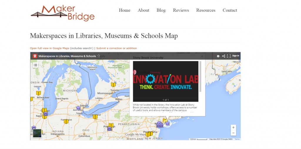 Makerspace Maps