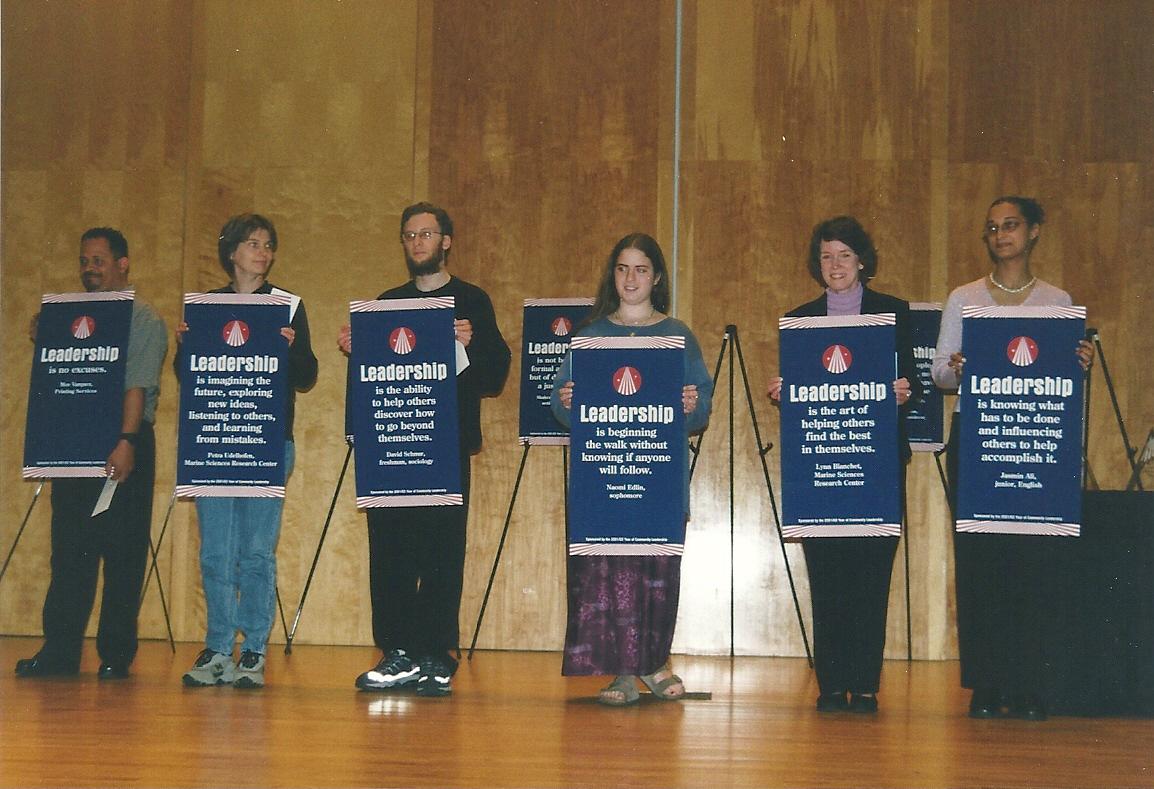 "MSRC Winners of SBU's ""What is Leadership?"" Contest"
