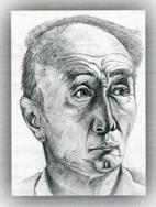 Portrait of Akira Okubo by Deborah Bray