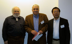Event organizers: Jeff Levinton, Department of Ecology and Evolution; Peter Daum, Brookhaven National Laboratory; and Minghua Zhang, School of Marine and Atmospheric Sciences