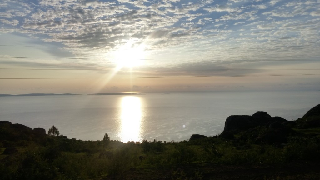 Morning break over Lake Victoria near Bukoba town, Tanzania, January 16, 2016 (Photo credit T. Wilson)