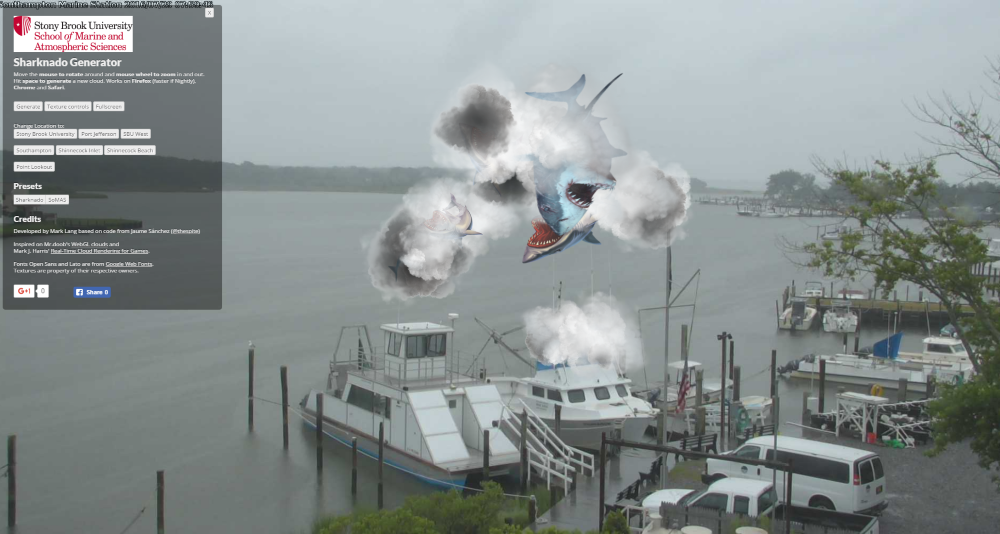 Sharknado Touches Down on Long Island!