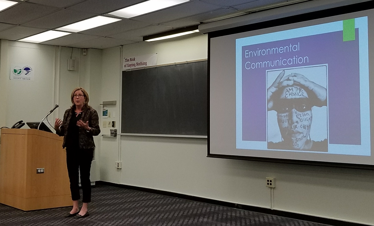 Sustainability Studies Director Heidi Hutner discusses the variety of ways to use media for environmental communications