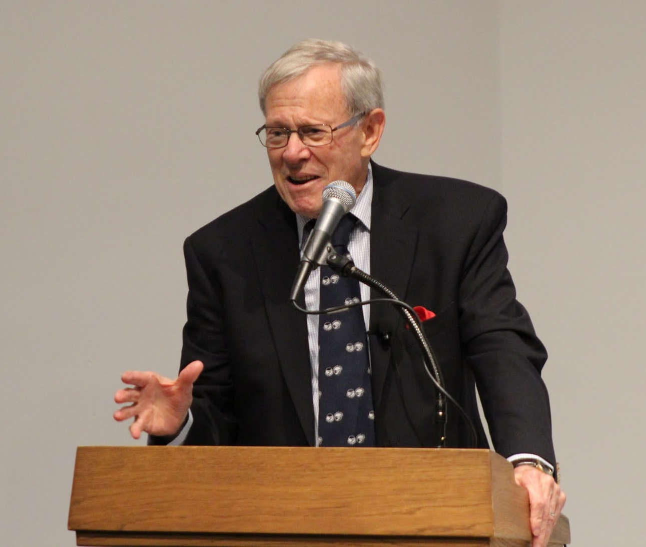 Former Dean Jerry Schubel returns to give the SoMAS 50th Anniversary Keynote