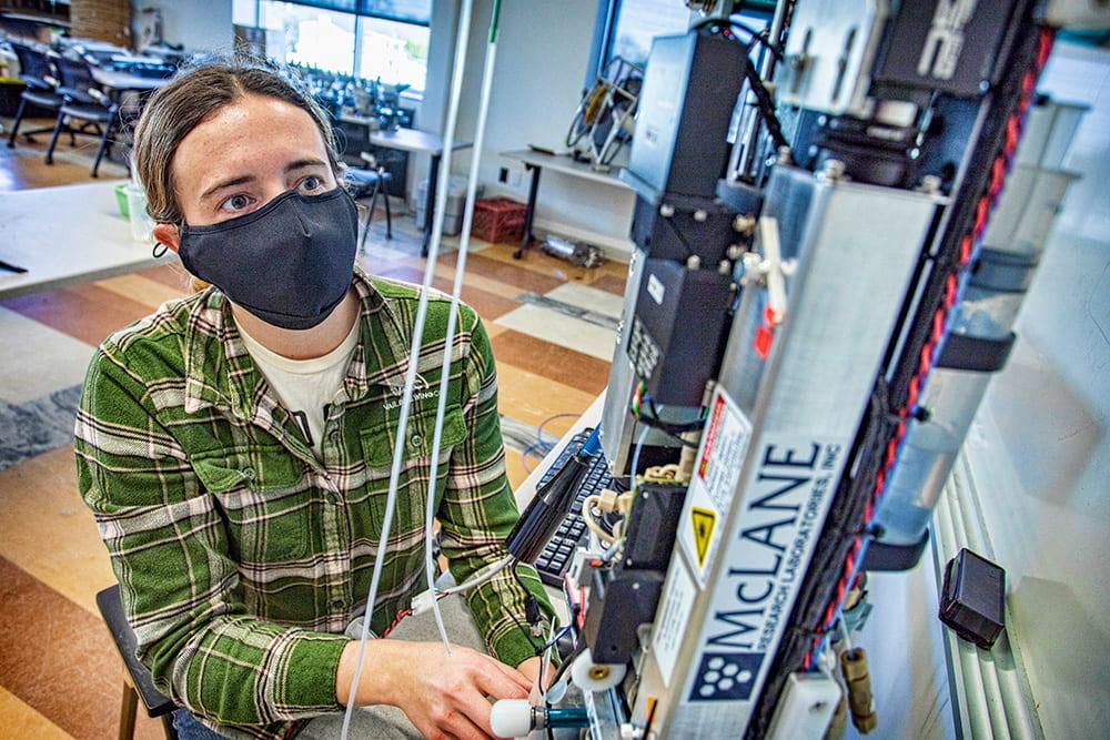 Latest Technology Helping SoMAS Student Identify Harmful Algae