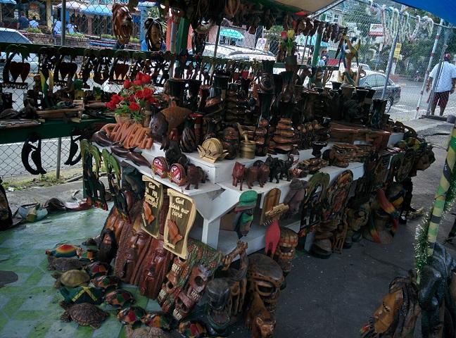 Jamaica souvenir shop.