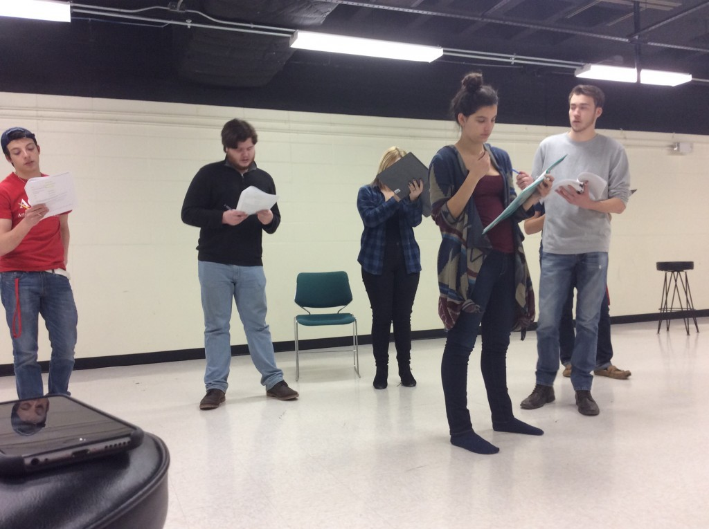 Pocket Theatre - Next to Normal Rehearsal