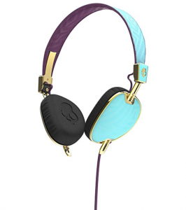 Skullcandy Purple & Gold Headphones