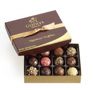 Godiva Chocolatier Signature Chocolate Truffles
