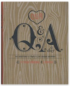 Buy Our Q&A a Day: 3-Year Journal for 2 People at Amazon.com