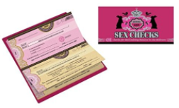 Buy Sex Checks: 60 Checks for Maintaining Balance in the Bedroom at Amazon.com
