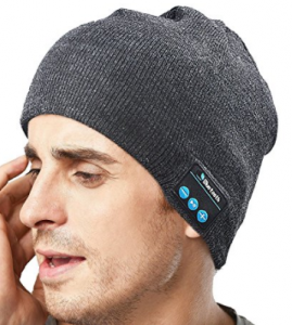 Unisex Bluetooth Beanie with Wireless Musical Headphones