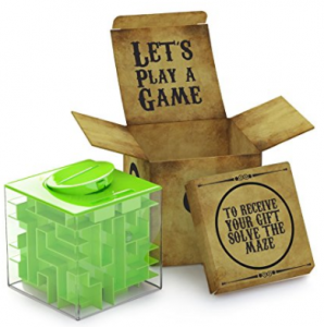 Money Maze Puzzle Box For Kids