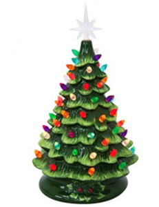 Buy Best Choice Products Prelit Ceramic Tabletop Christmas Tree W/ Multicolored Lights at Amazon.com