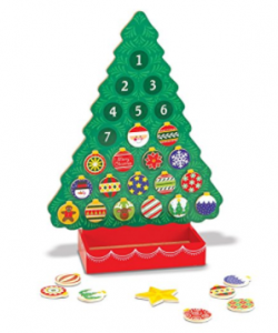 Buy Melissa & Doug Countdown to Christmas Wooden Advent Calendar - Magnetic Tree, 25 Magnets at Amazon.com