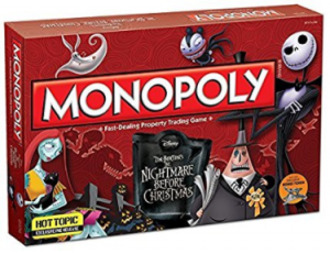 Buy Tim Burton's The Nightmare Before Christmas Monopoly Game at Amazon.com