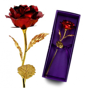 Buy 24K Gold Red Rose on Amazon.com