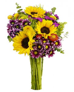 Buy Benchmark Bouquets Flowering Fields, No Vase on Amazon.com