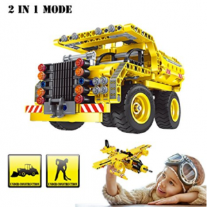 Buy Building Blocks Toy, Dump Truck and Airplane for 6 Year Old Kids at Amazon.com