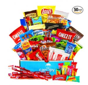 Buy Canopy Snacks - Ultimate Snacks Variety Box at Amazon.com