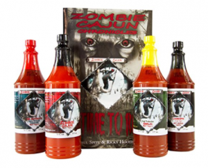 Buy Zombie Cajun Hot Sauce Gift Set on Amazon.com