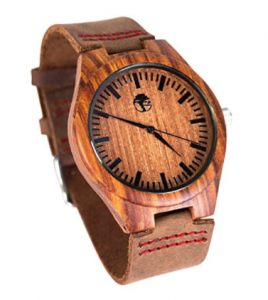 Buy Men's Wood Watch - Wooden Bamboo Dial - by Viable Harvest on Amazon.com