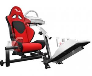 Buy Openwheeler Racing Wheel Stand Cockpit Red on Black on Amazon.com