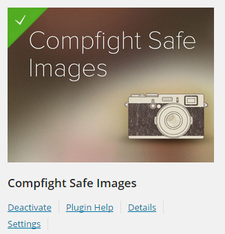 Compfight Safe Images plugin