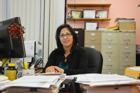 Norma Reyes, Assistant to the Chair, Chemistry Department