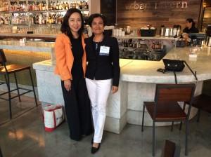 with Minji Kim APS 2014 in SFO