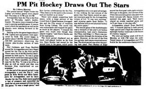 pit hockey 1984