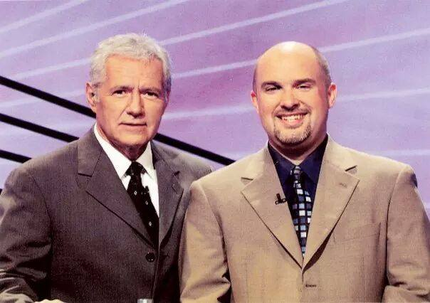 Chris & Alex Trebek, October 2009