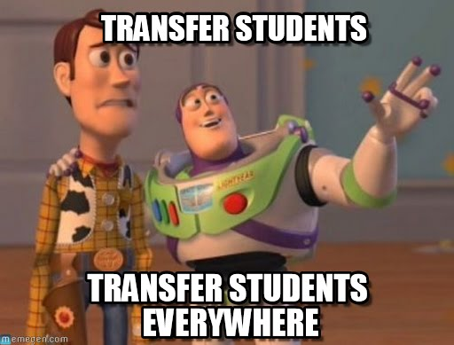 Transfer Students Everywhere!