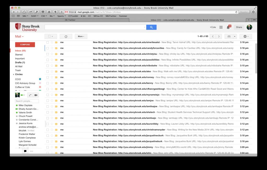 inbox sb you registrations