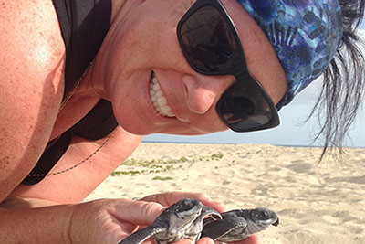 NOAA Sea Turtle Biologist Advises MCP Students