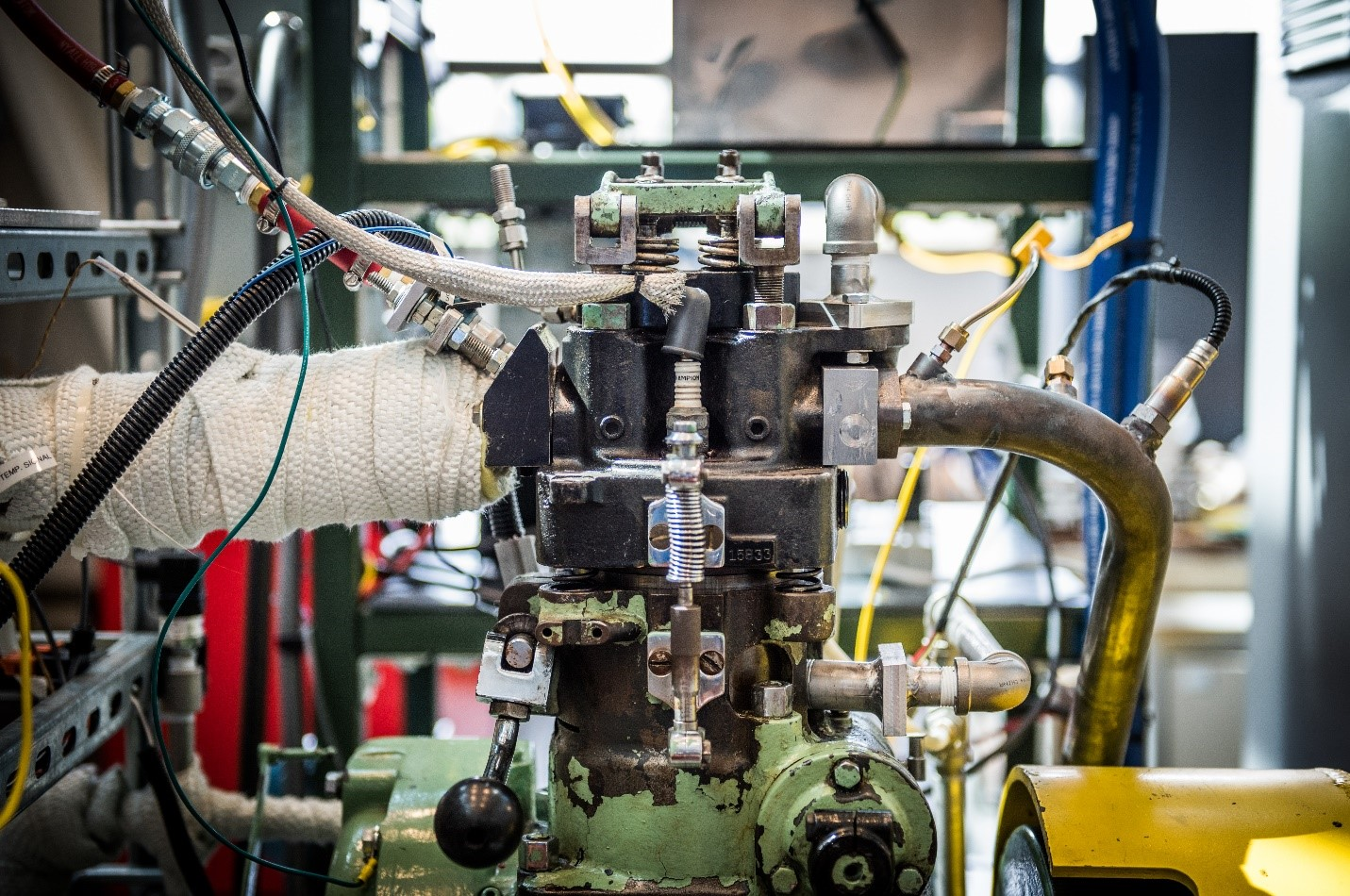 Research Engine Combustion Research Group