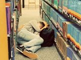 Taking a nap or building a life-long love of books?
